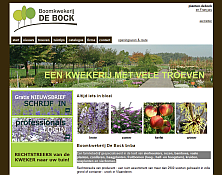 website thumbnail planten-debock.be