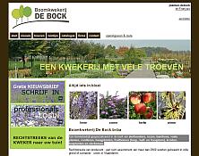 website thumbnail planten-debock.be