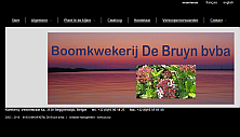 website thumbnail boomkwekerij-debruyn.com