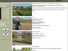 website thumbnail boomkwekerijdelinde.be