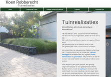 website thumbnail koenrobberecht.be