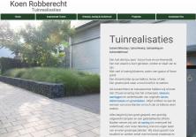 website thumbnail koenrobberecht.be