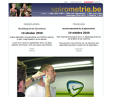 website thumbnail spirometrie.be