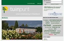 website thumbnail tuinpunt.be