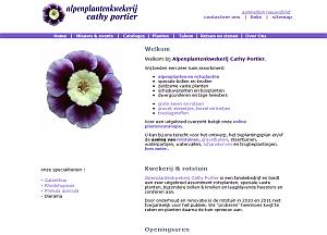 website thumbnail alpenplanten.be
