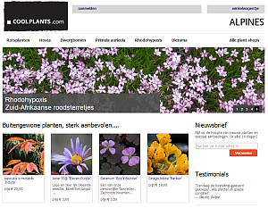 website thumbnail coolplants.com